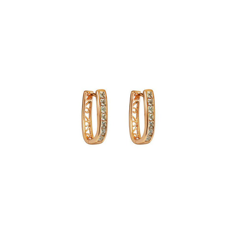 TAIGI ROSE GOLD CRYSTAL HUGGIES