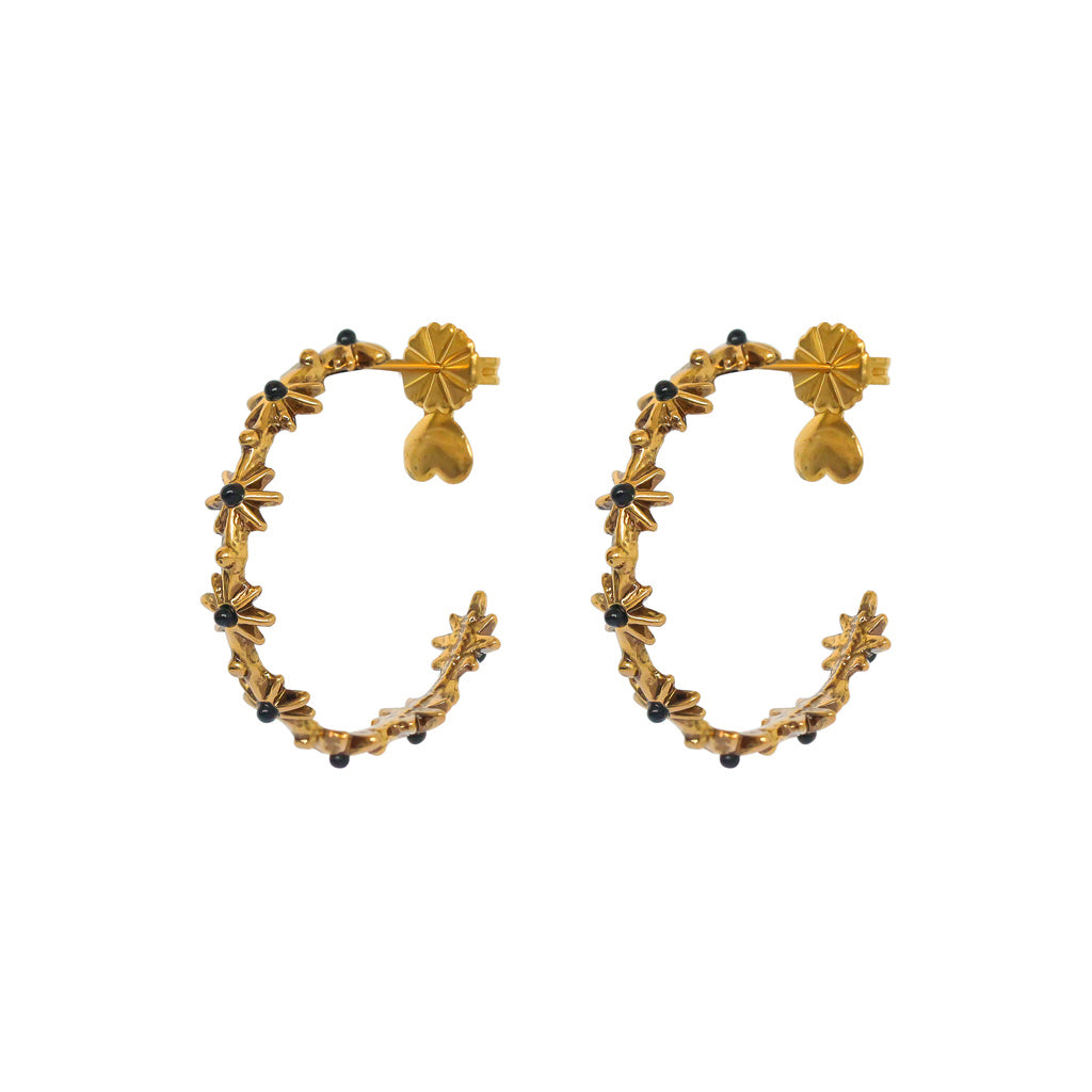 LARISSA ANTIQUE GOLD EARRINGS