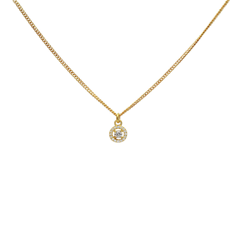 merra crystal necklace