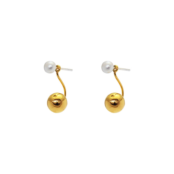 Dariel freshwater pearl earrings
