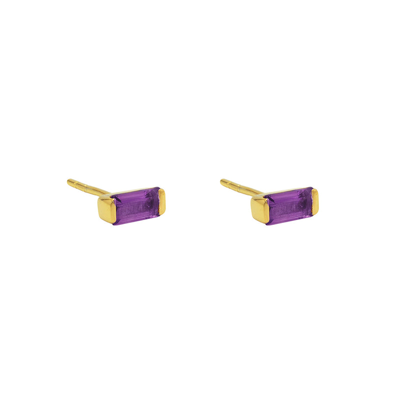 Jazmin 2 Micron Gold Semi Precious Earrings