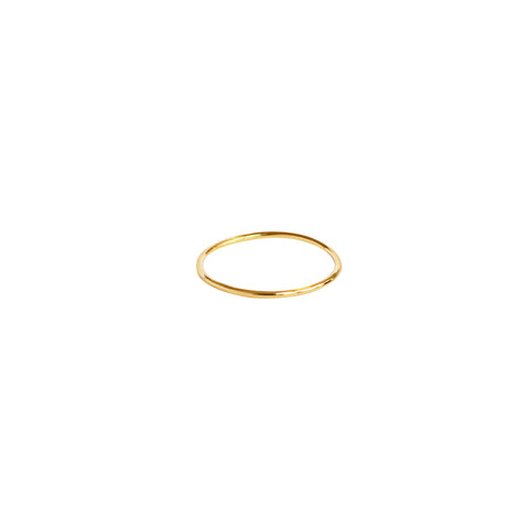 VALOR THIN GOLD RING