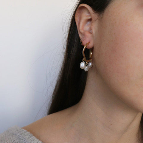 VANI HOOP EARRINGS
