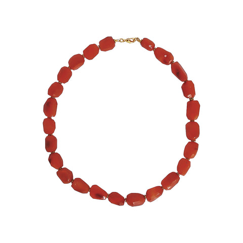 ZELLI CARNELIAN SEMI-PRECIOUS NECKLACE