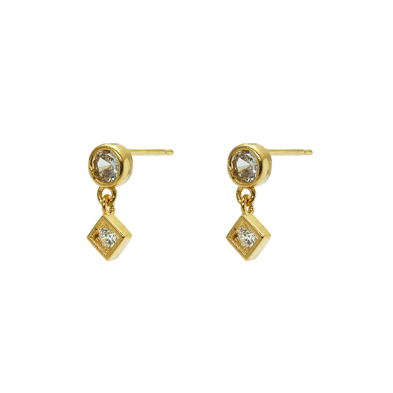 Lorelai crystal drop earrings
