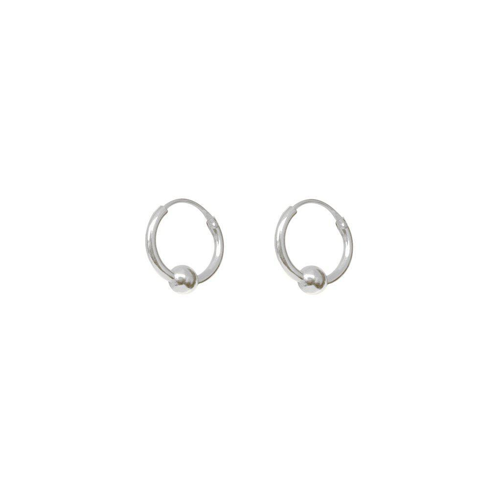 ADY STERLING SILVER SMALL HOOP EARRING