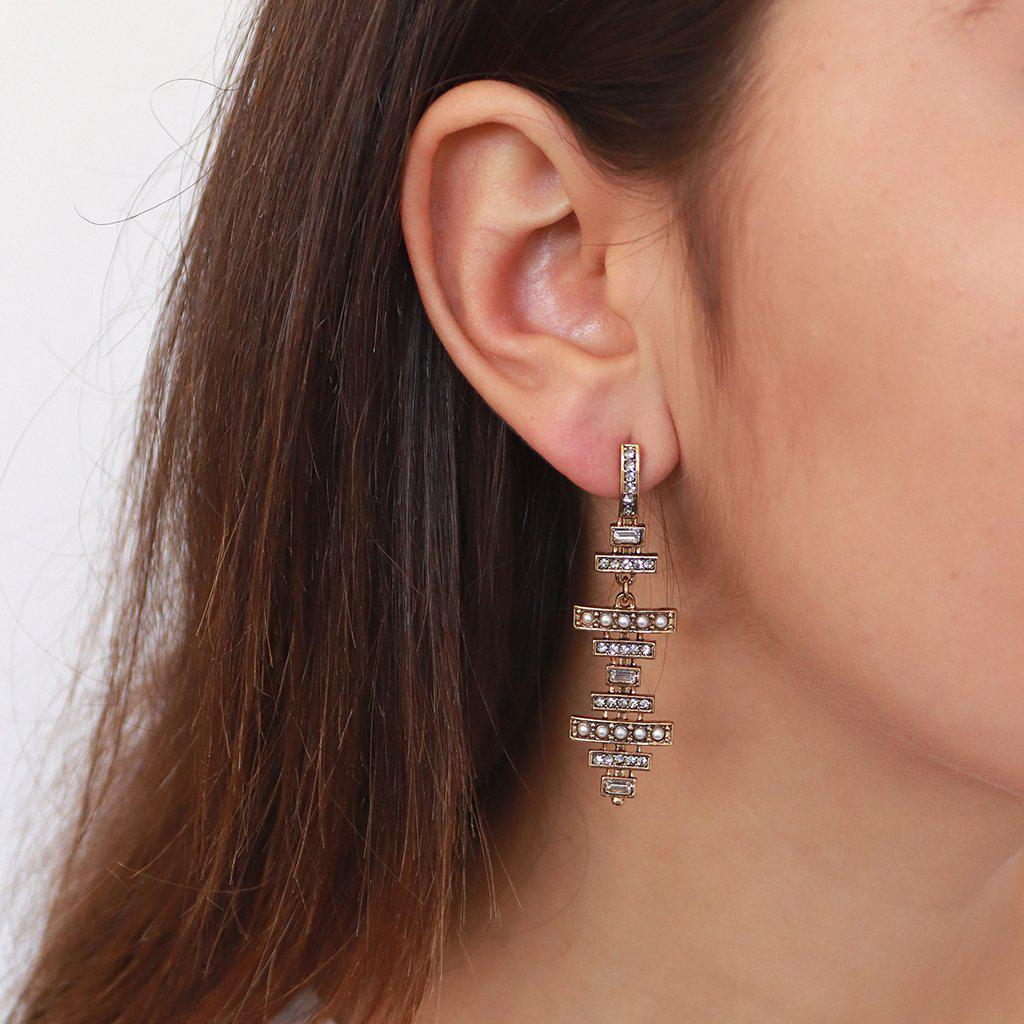 ANDRE ANTIQUE GOLD EARRINGS