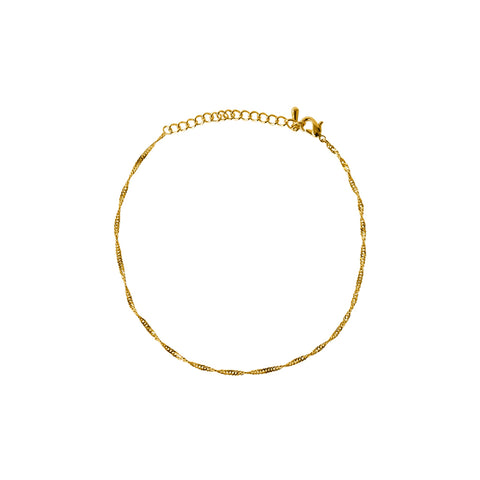 CALLINA GOLD FILLED ANKLET