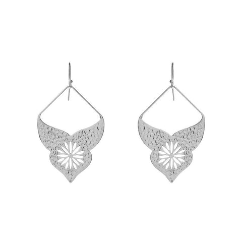 AURORA SILVER BOHEMIAN  EARRINGS