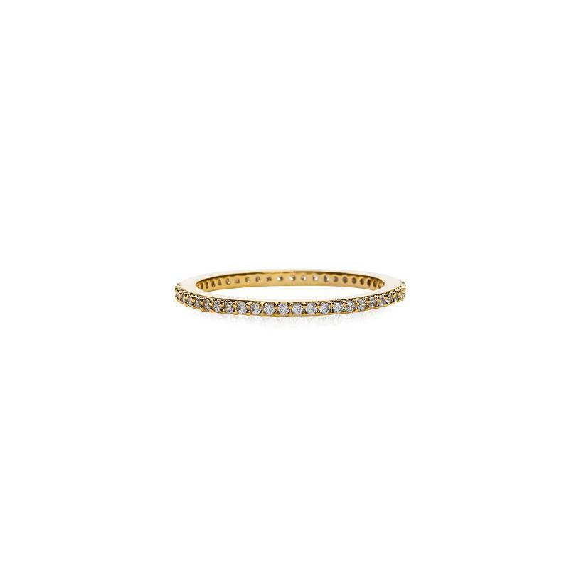 AVA PAVE' GOLD RING
