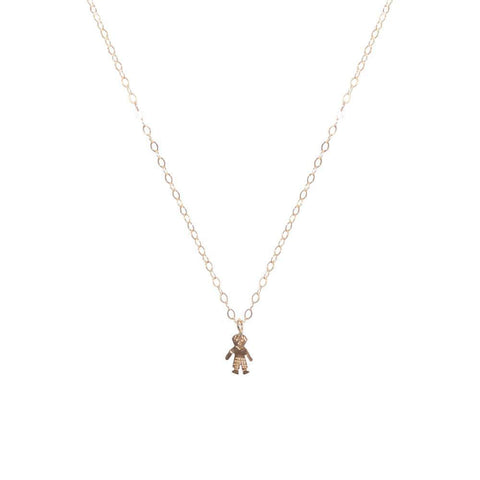 BOY GOLD FILLED PENDANT-Necklaces-MEZI