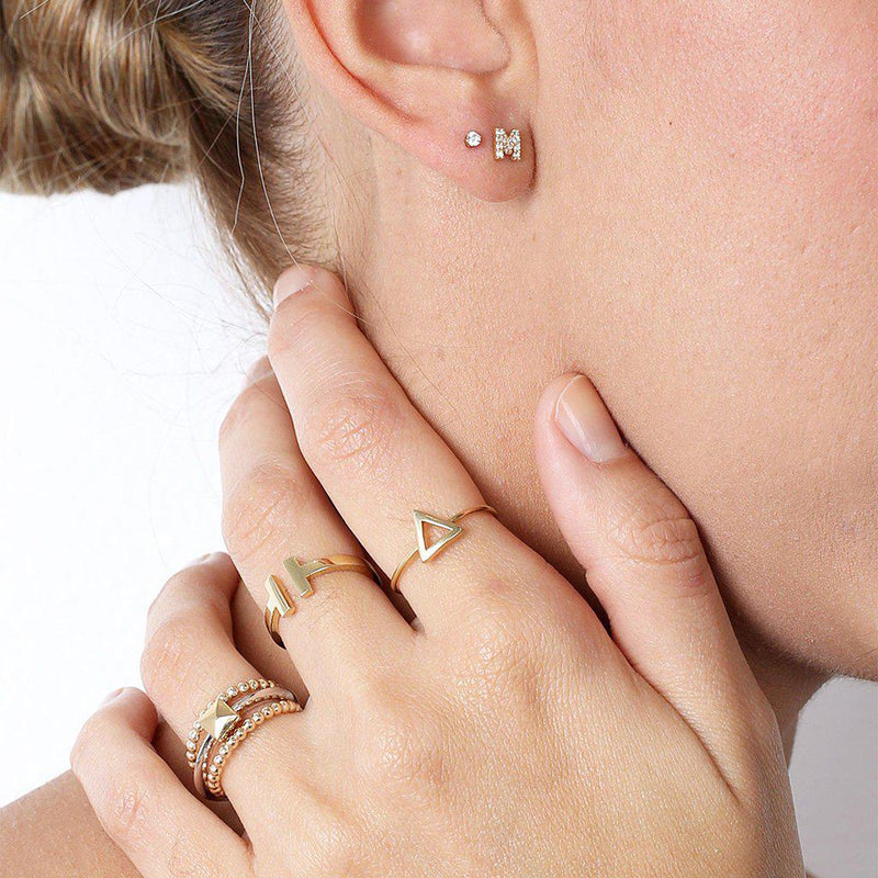 Adele Gold Bubble Ring