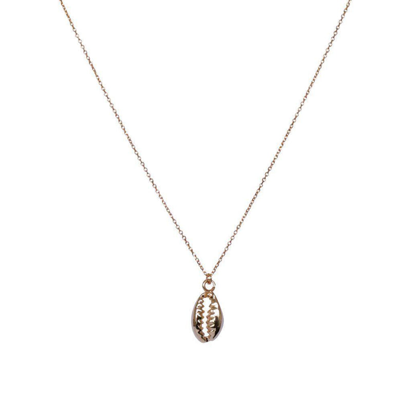 BUZIOS GOLD SHELL FINE NECKLACE