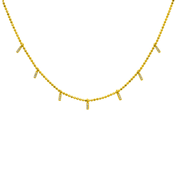 Carysn crystal necklace