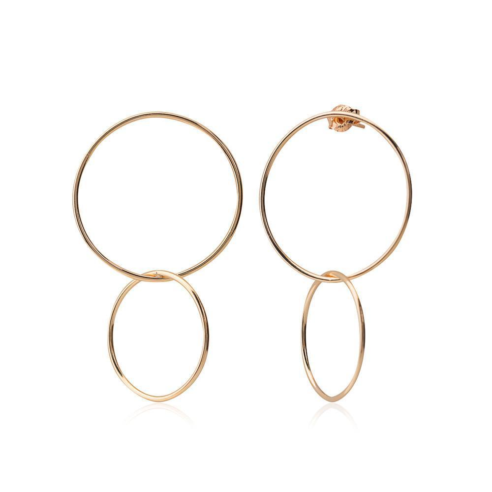 CAMILLA ROSE GOLD EARRING