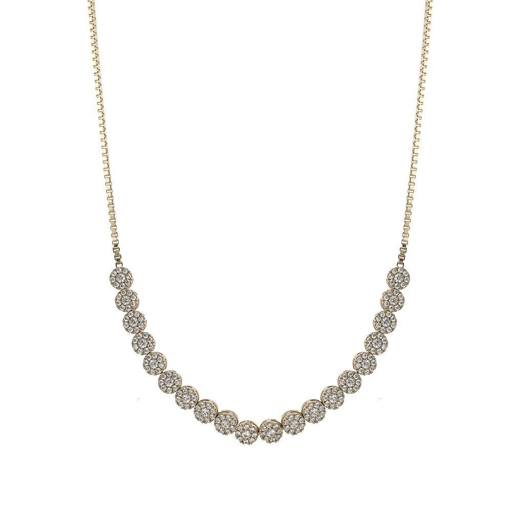 CARLA SILVER CHOKER/NECKLACE