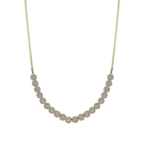 CARLA SILVER CHOKER/NECKLACE-Necklaces-MEZI