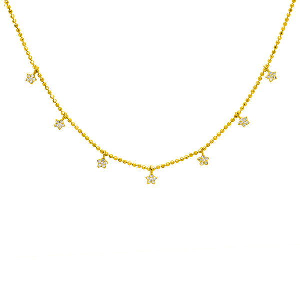 Cashel star crystal necklace
