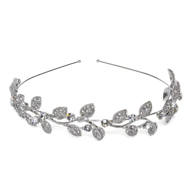 CHARIS CRYSTAL HEADPIECE-Headpieces-MEZI