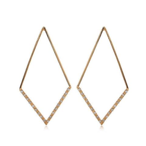 CLARA GOLD EARRING-Earrings-MEZI