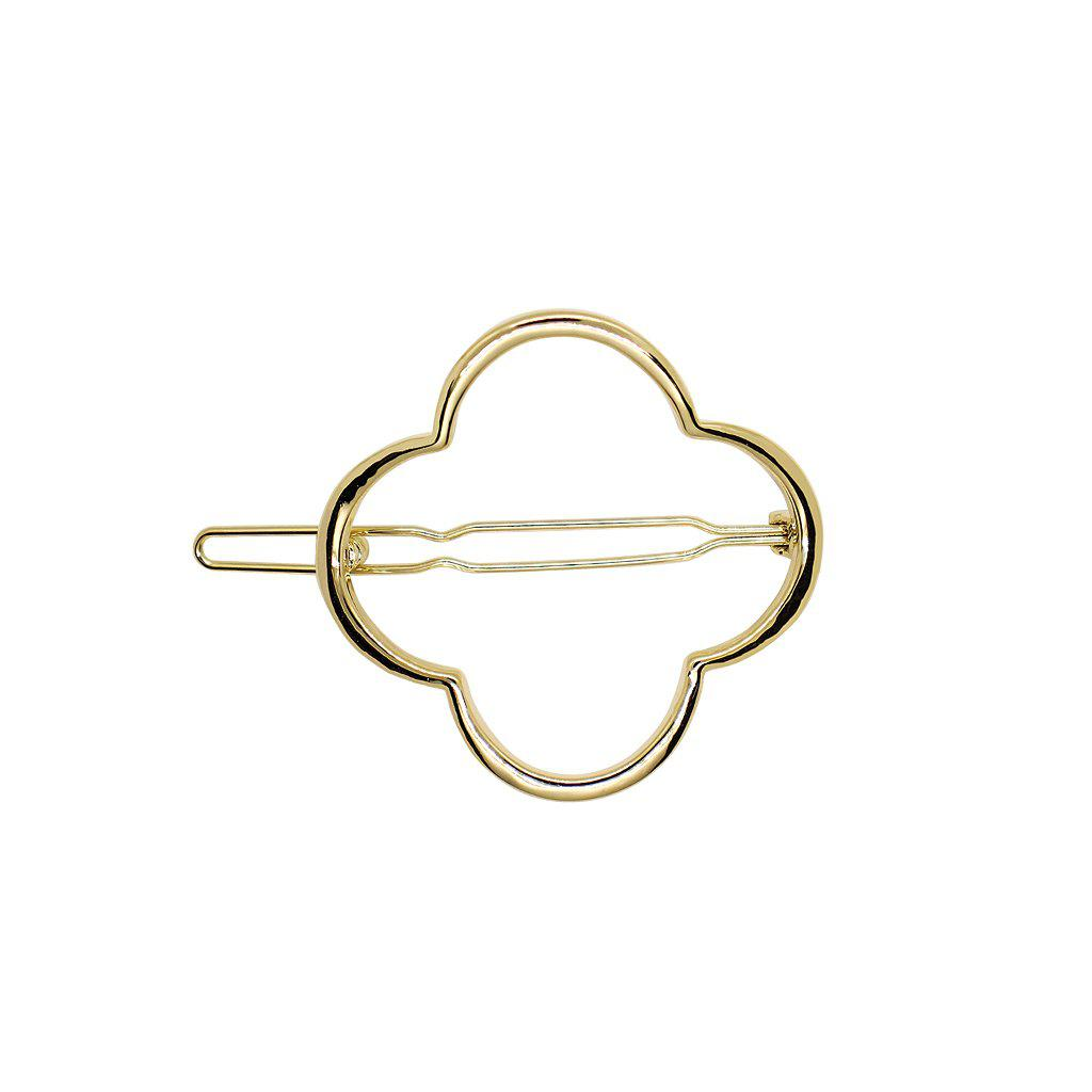 CLOVER HOLLOW GOLD HAIR CLIP
