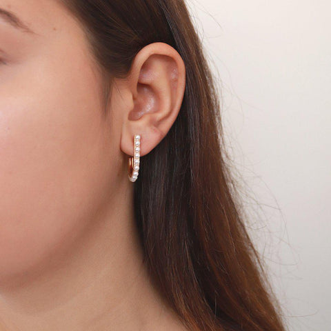 DAWN PEARL EARRINGS