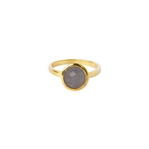 ELKIN LABRADORITE GOLD FILLED SEMI-PRECIOUS RING