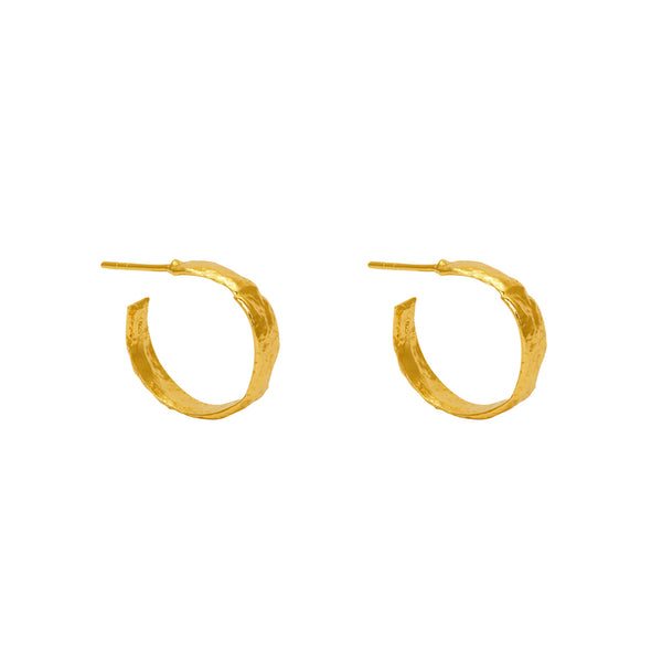 emani gold filled hoops