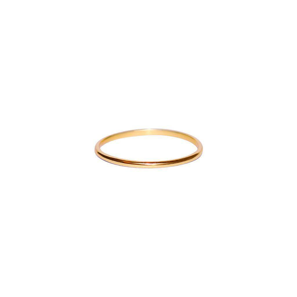 ENU ROSE GOLD THIN RING
