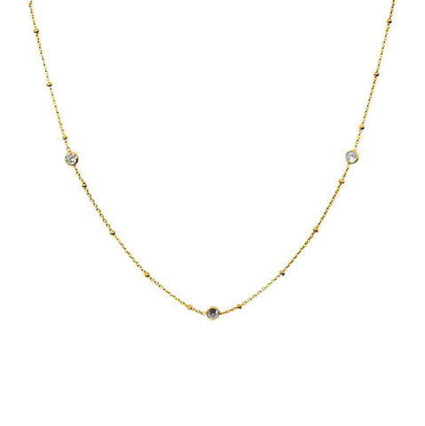 FINE CRYSTAL CHOCKER NECKLACE