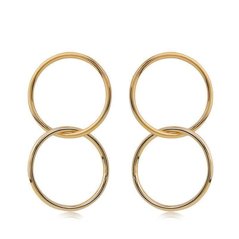 GABI GOLD EARRING-Earrings-MEZI