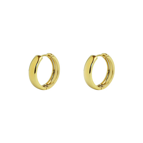 GIBSON GOLD HOOP EARRINGS
