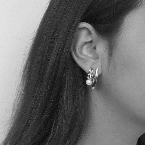 DARIA FILIGREE SILVER EARRINGS