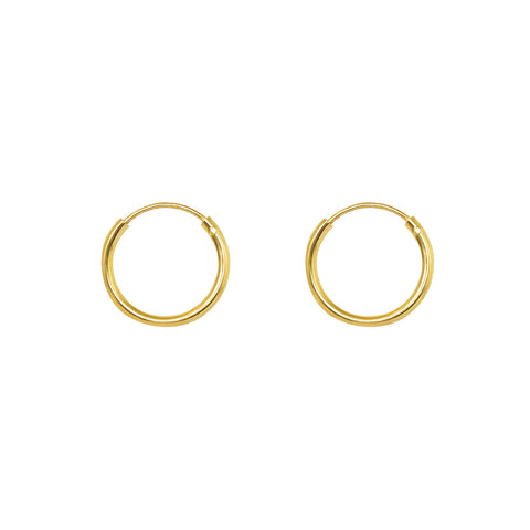 HOOPS GOLD FILLED 1.5 CM