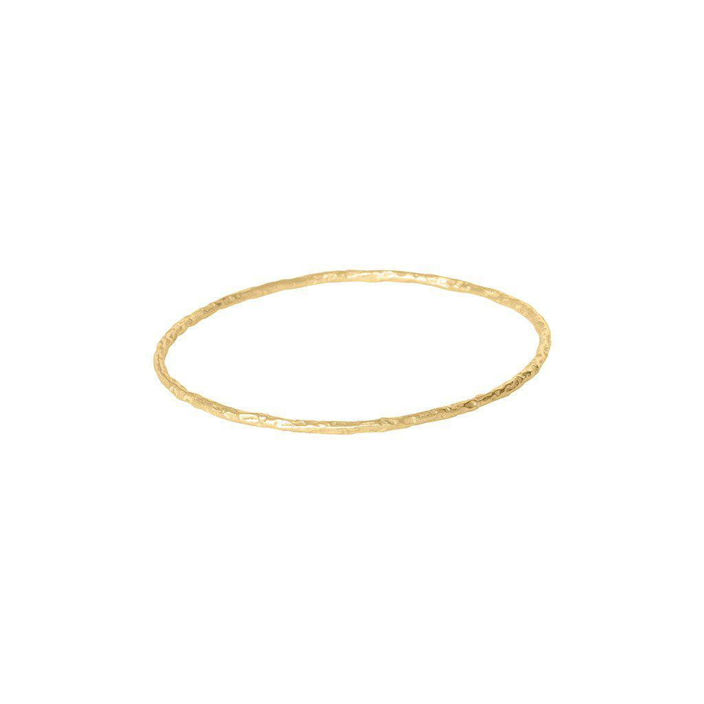 ITZEL 2MICRON GOLD BANGLE BRACELET