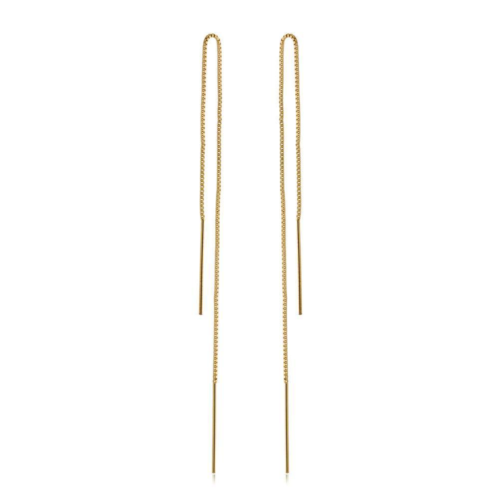 JEAN GOLD THREAD EARRINGS