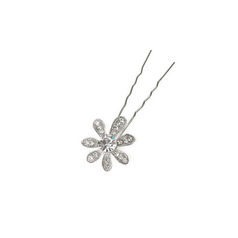 JENE CRYSTAL HAIR PIN-Headpieces-MEZI