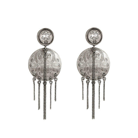 KATIA DISC DROP EARRING