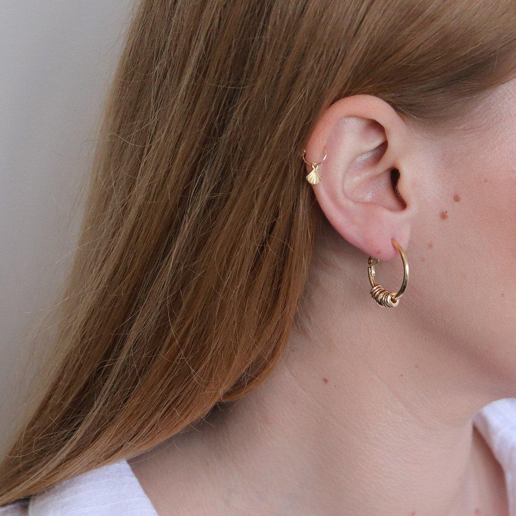 KEFIRA GOLD FILLED HOOPS