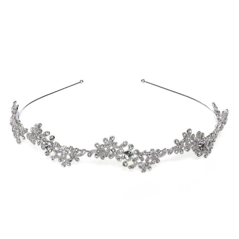 KINSLEY CRYSTAL HAIRPIECE-Headpieces-MEZI