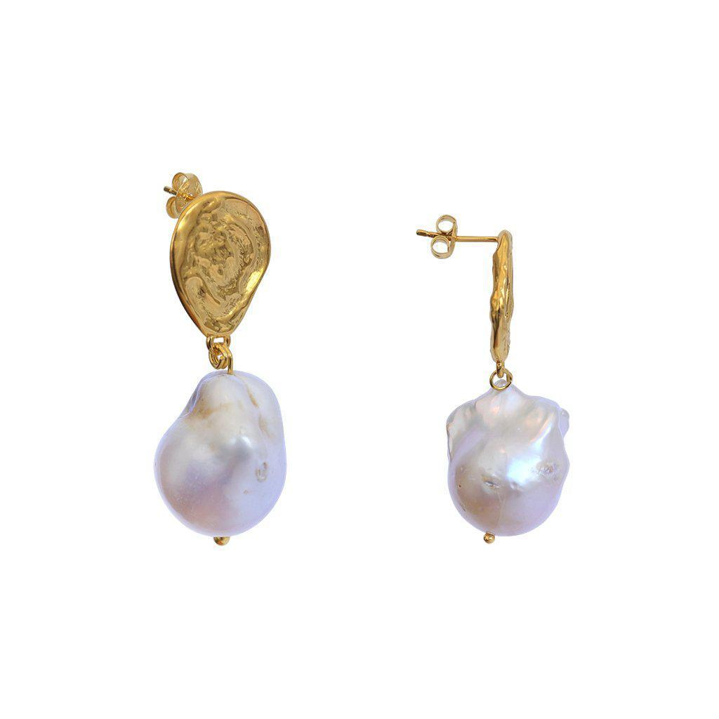 LAHYA FRESH WATER PEARL DROP EARRINGS