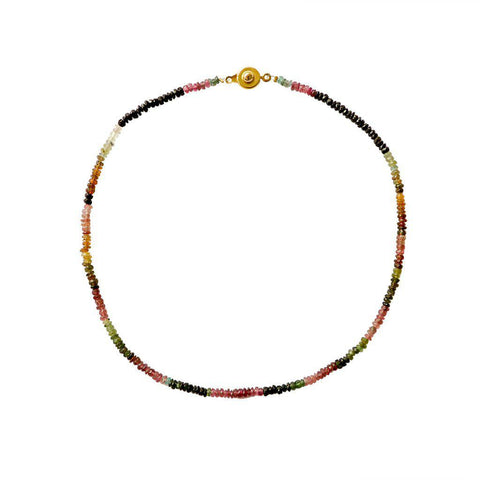 LIBI TOURMALINE SEMI-PRECIOUS NECKLACE