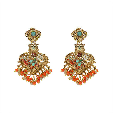LIGIA CHANDELIER BUTTERFLY EARRINGS