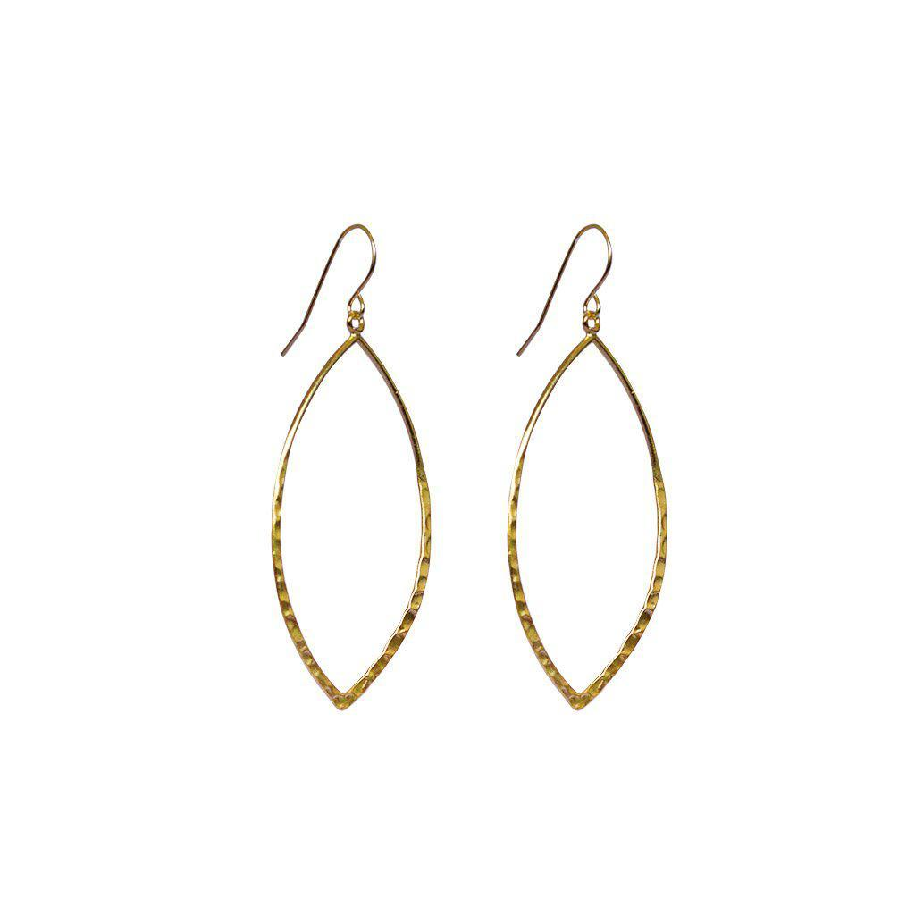 LILJA 2MICRON GOLD PLATED EARRINGS