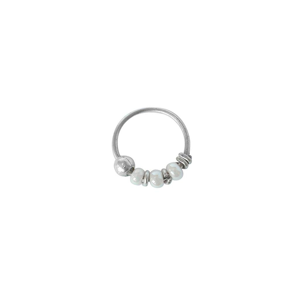 LILY SILVER SMALL SLEEPER EARRING