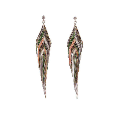 LYVAN CRYSTAL EARRINGS