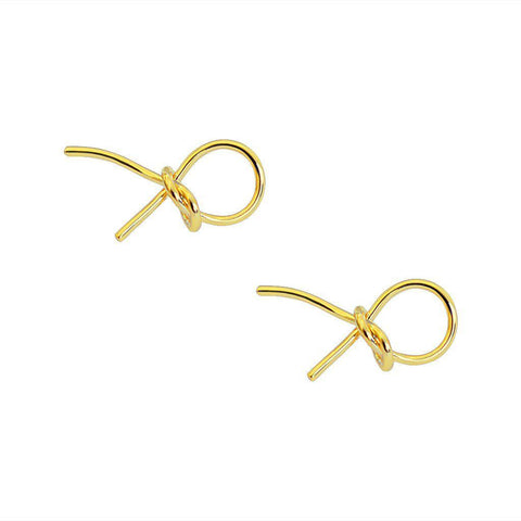 MAGDA KNOT STUDS EARRINGS