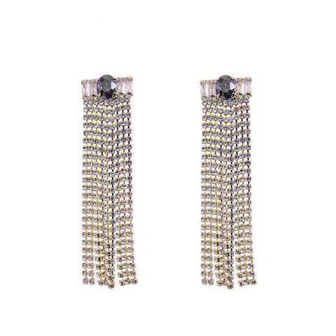 MAHLAH CRYSTAL EARRINGS