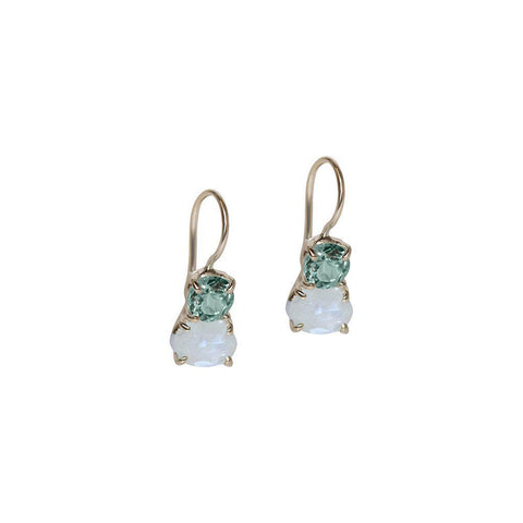 MARIS SEMI PRECIOUS STONE EARRINGS
