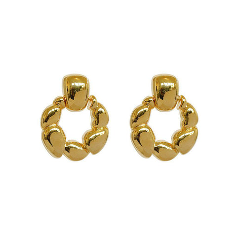 MIKI FASHION STUD EARRINGS